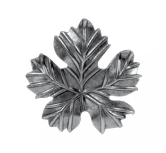 Лист виноградный штампованный 143х150х2мм