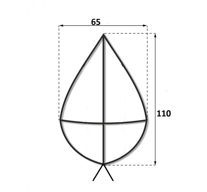 Каркас крест 1.1 м.