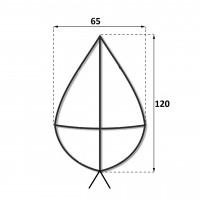 Каркас крест 1.2 м.