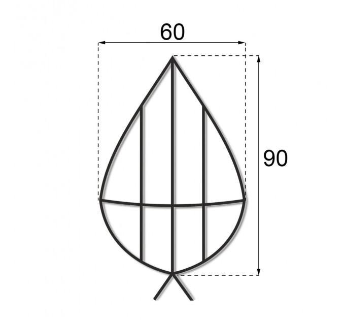 Каркас плоский 0.9 м.