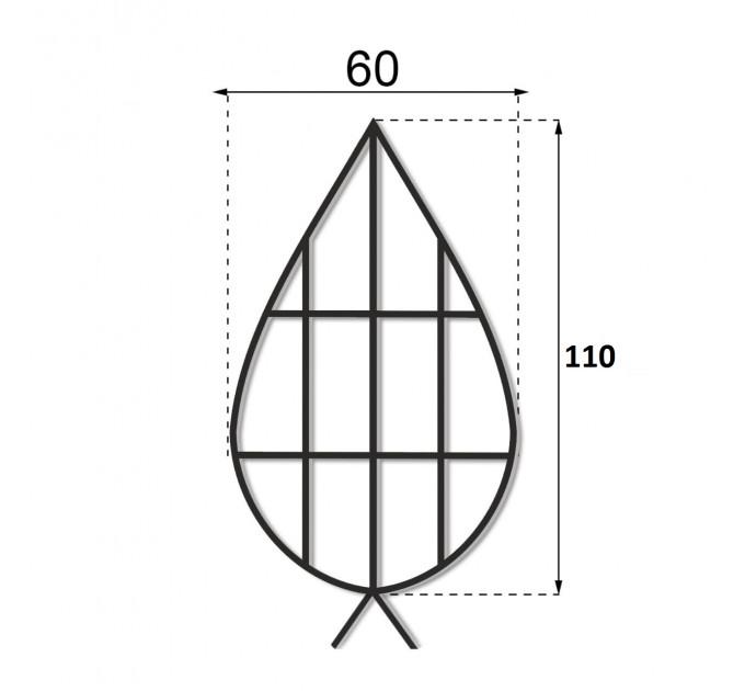 Каркас плоский 1.1 м.