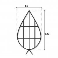 Каркас плоский 1.2 м.