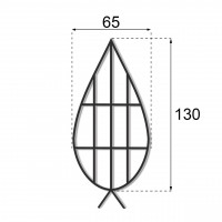Каркас плоский 1.3 м.