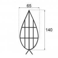 Каркас плоский 1.4 м.