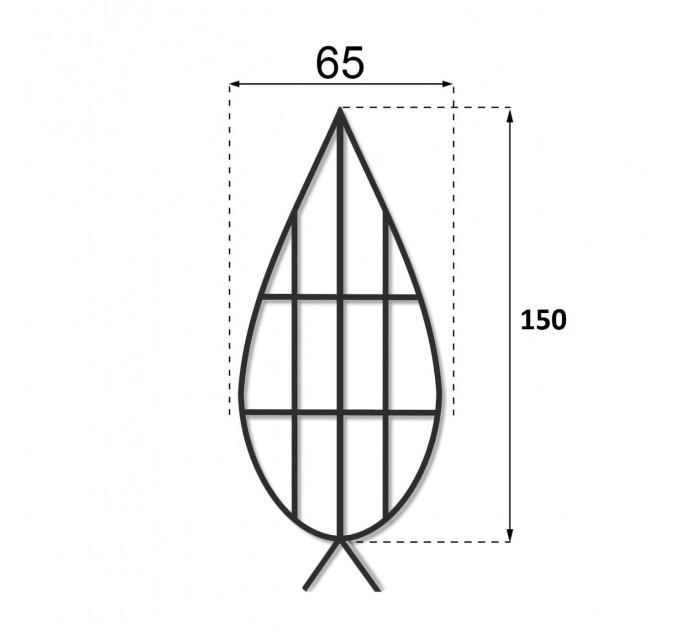Каркас плоский 1.5 м.