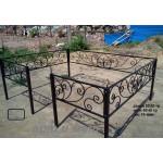 Кованая ограда 26