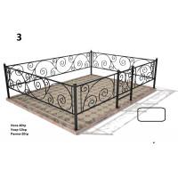 Кованая ограда 3.