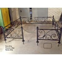 Кованая ограда 5.