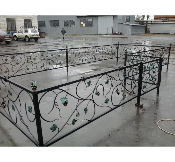 Кованая ограда  9.
