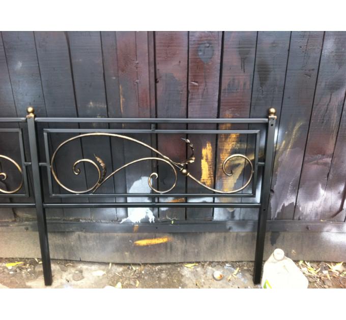 Ограда кованая 17