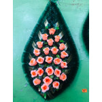 Венок 1 м роза светло-розовая